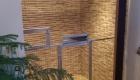 Vstavaná klietka pre papagája